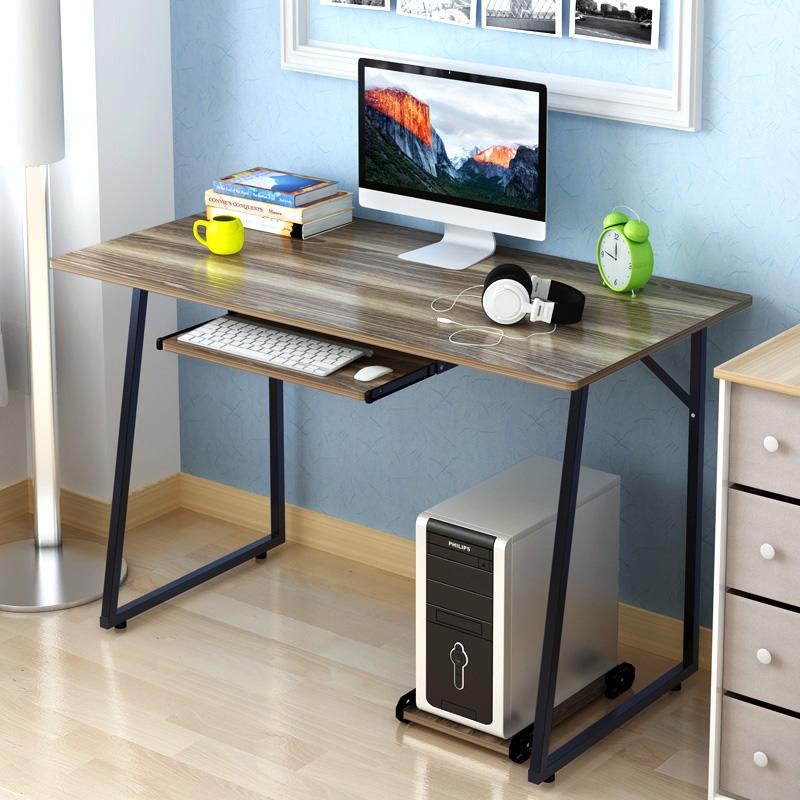 電腦桌台式桌家用簡約 辦公桌簡易小書桌筆記本電腦桌子寫字台