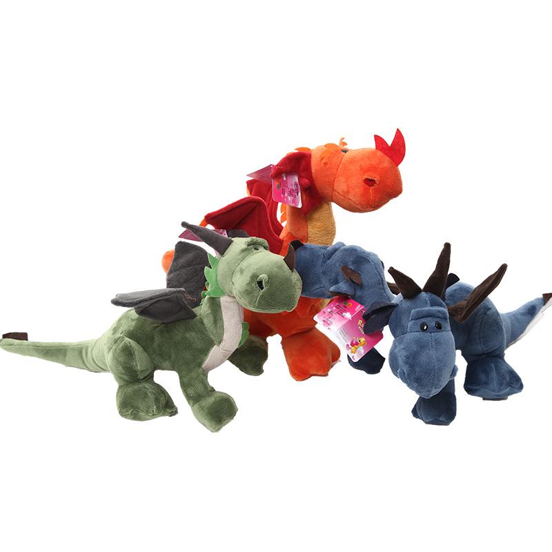 睿伊可爱恐龙毛绒玩具公仔侏罗纪恐龙娃娃卡通创意生日情人节礼物