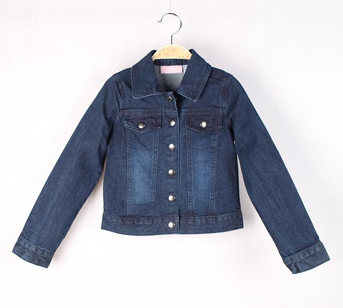 2015 году весна детей износа новых prewashed джинсовые обрезанное куртки для мальчиков длинные Джокер красивый пиджак с длинным рукавом