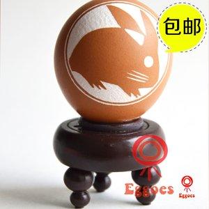 蛋雕手工生肖兔创意礼品生日礼物节日定制送女生兄弟朋友国庆促销