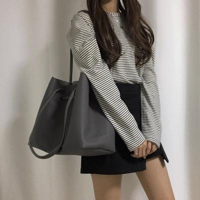 2020春季新款女包包ins韩国人气复古大包包子母包简约手提单肩包