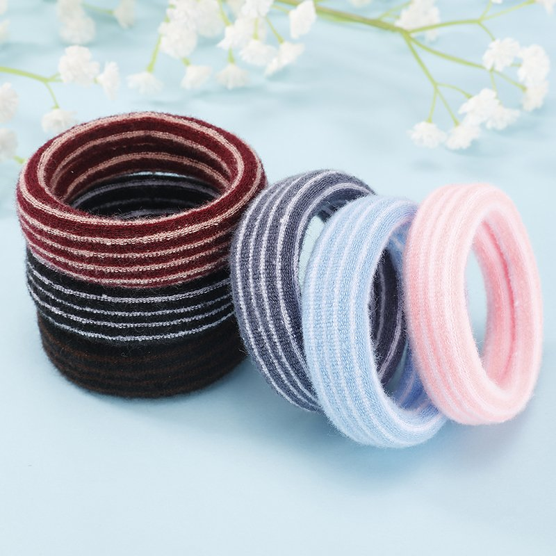 Koreas large jointless headband widened and thickened hairband hair cord high elasticity tie hair rubber band hair accessories package