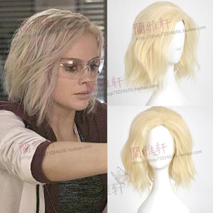Оливия парик cos я был зомби микро Тома Мур Liv волосы стиль косплей парик