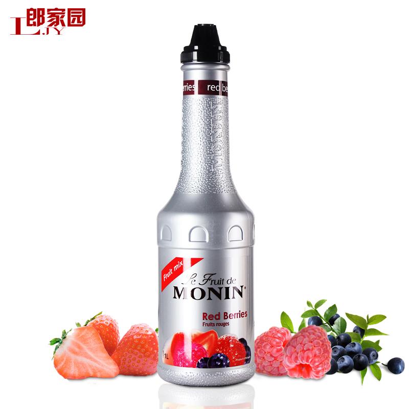 郎家园包邮莫林monin compound berry jam 莫林复合莓风味果酱