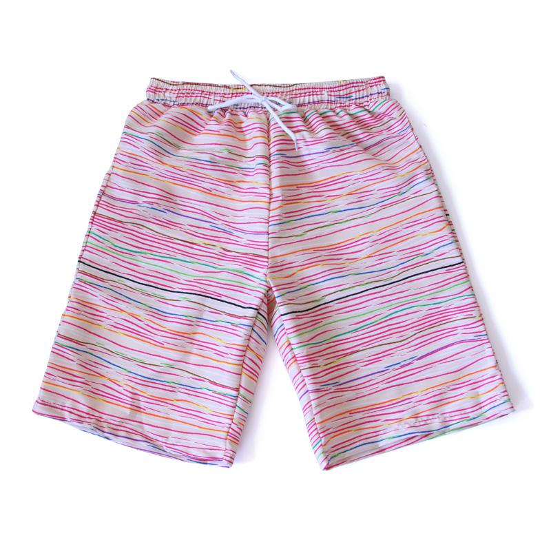 亦美珊沙灘褲男士女情侶速幹五分平角泳褲寬鬆大碼海邊衝浪遊泳褲
