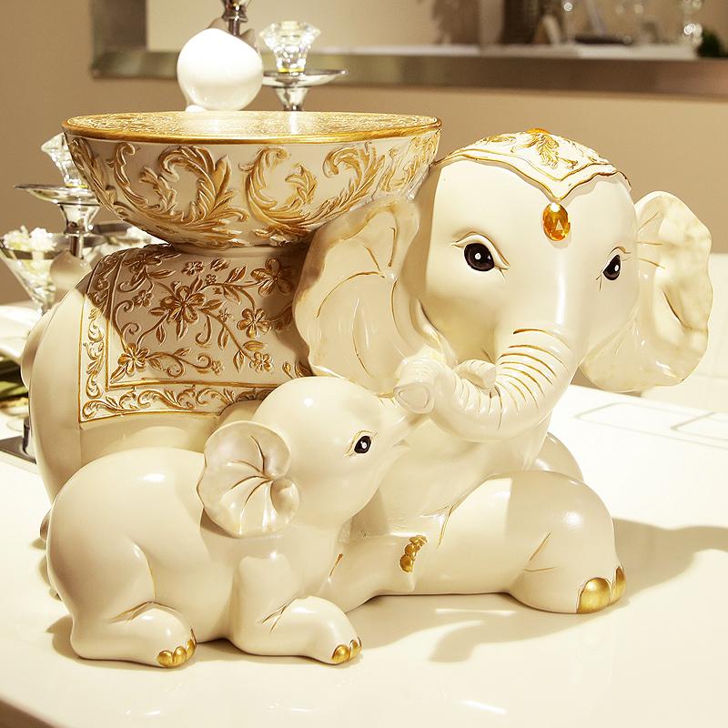 歐式 大象換鞋凳子試鞋櫃仿實木象凳穿鞋凳圓凳矮凳化妝梳妝坐