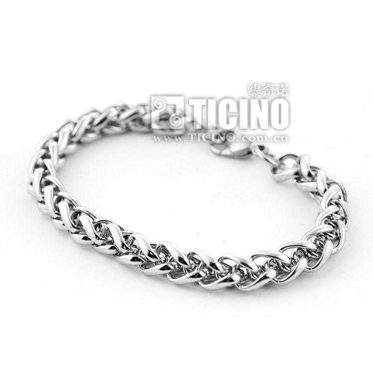 Ticino tichino is popular in Europe, America, Switzerland, refined steel, fadeless fashion, retro chain bracelet Jewelry