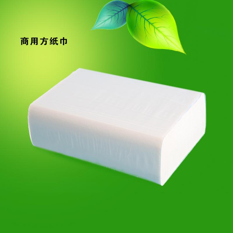 Inter-Hansha штабелировать бумагу общественное место бумажное полотенце квадратное перекачивание бумажное полотенце