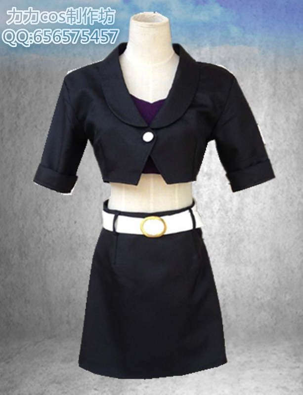 Death parade black haired cos