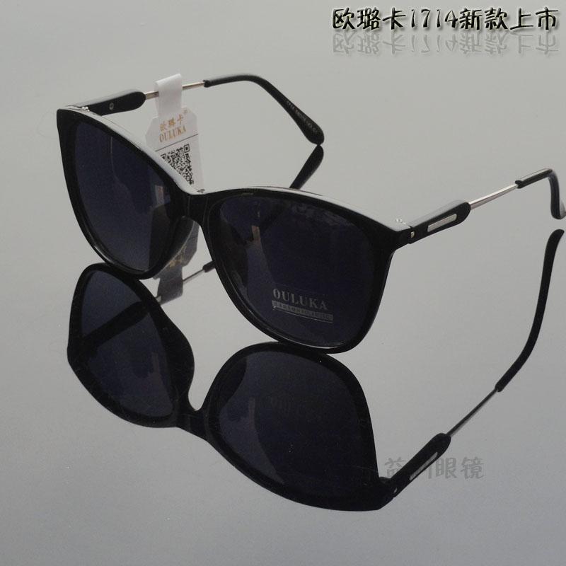 欧璐卡2016新款复古镜开车太阳镜