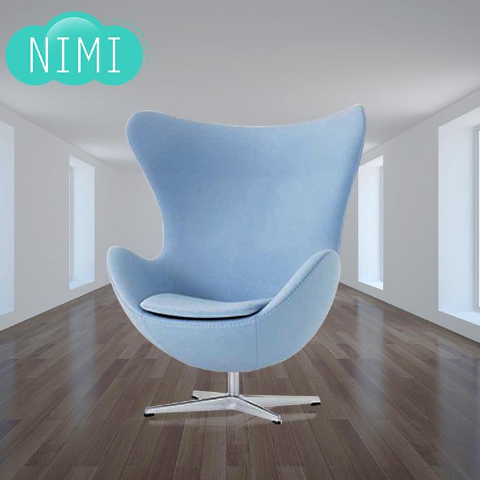 Стул стула яичка egg-shaped для отдыха Предводительствуйте стул яичка творческих способностей индивидуальности стула эллипсойда стула яичка творческих способностей стула раковины яичка