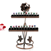 Rose ring Display frame ring jewelry display Jewelry rack Jewelry rack