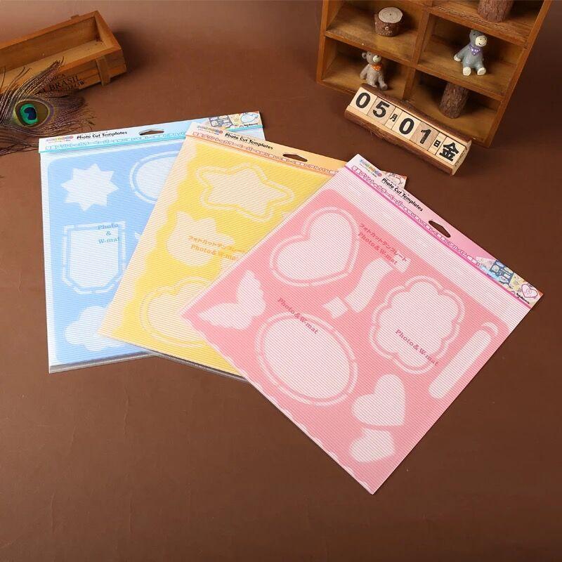 Иморт из японии ncl альбомы ребенок любители фото 567 дюймовый творческий вырезать карта diy производство инструмент монтаж