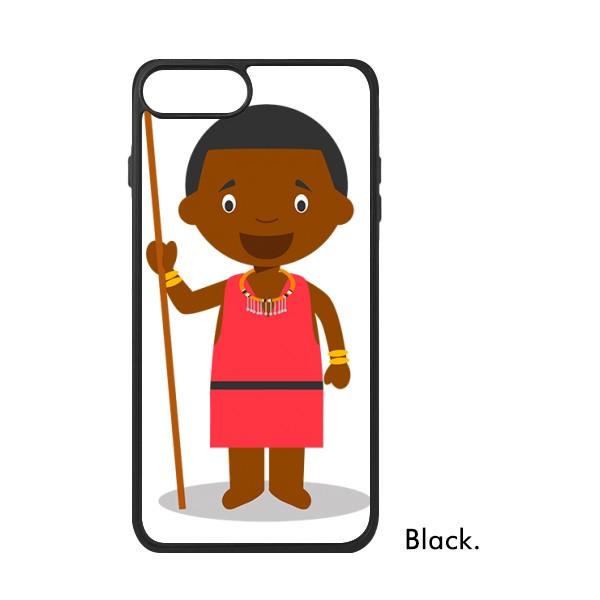 适用于iPhone野生肯尼亚卡通人物Xr手机壳max保护套678plus硅胶11