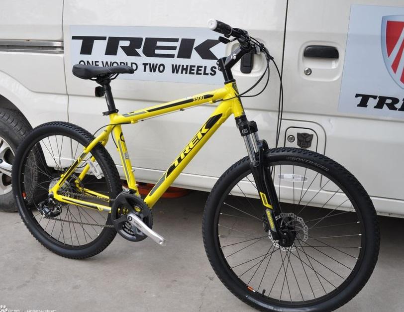 TREK崔克单车18寸入门级山地自行车3500D,26寸轮组/碟刹,开保修卡
