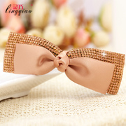 Smart original handmade hair clip hair accessories Korean version headgear fashion Korea imported rhinestone Butterfly card-issuing of cauda equina clips