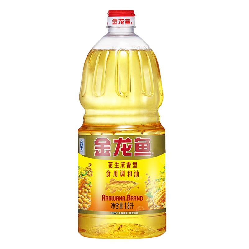 金龍魚 花生濃香型食用 調和油1.8L 桶 食用油