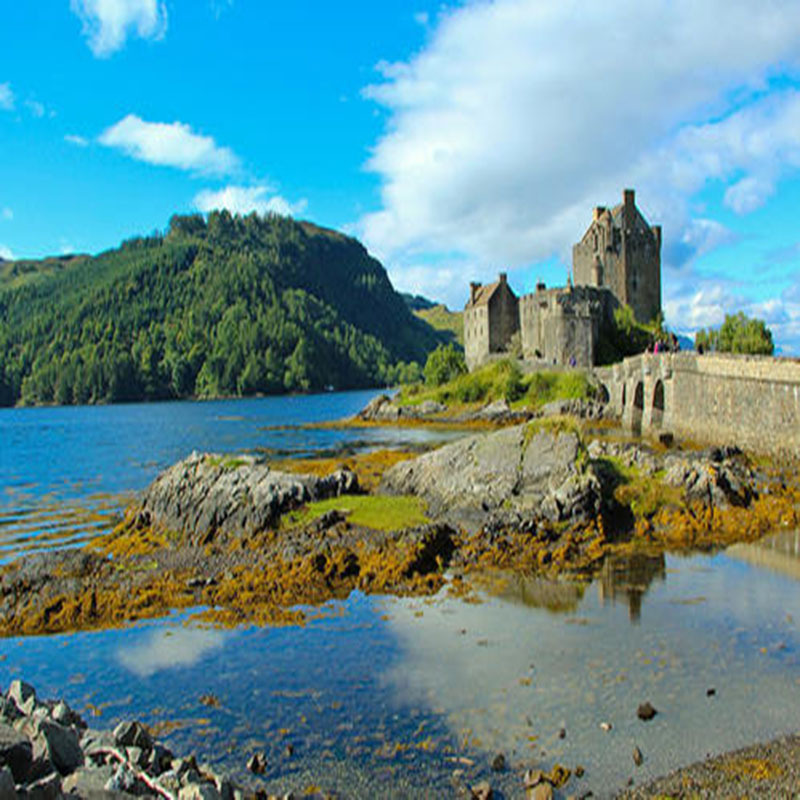 English sky Island + Harry Potter + Scottish Highlands 3-day Chinese tour guide