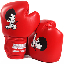 3-13 Childrens boxing Gloves Taekwondo Toddler boy set fight sandbag female training Sanda boxer