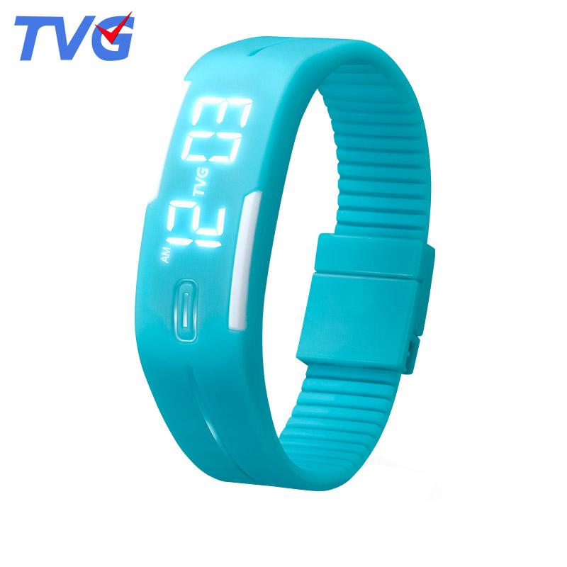 TVG正品 潮流學生手表女款 兒童手表女孩 電子表男情侶手環