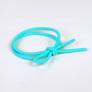 Know Connie hair accessories Korean small fresh mint green color high elastic hair tie band color soft rope