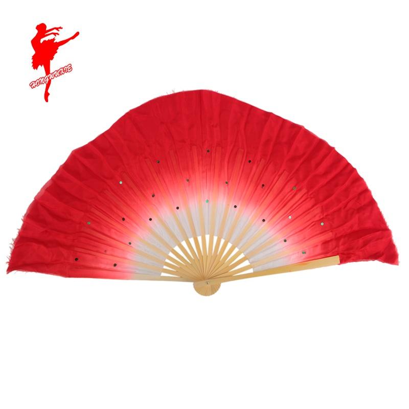 Красный обувь 90280 дуплекс танец вентилятор саженец песня танец веер производительность веер производительность веер 1 правитель шелк вентилятор