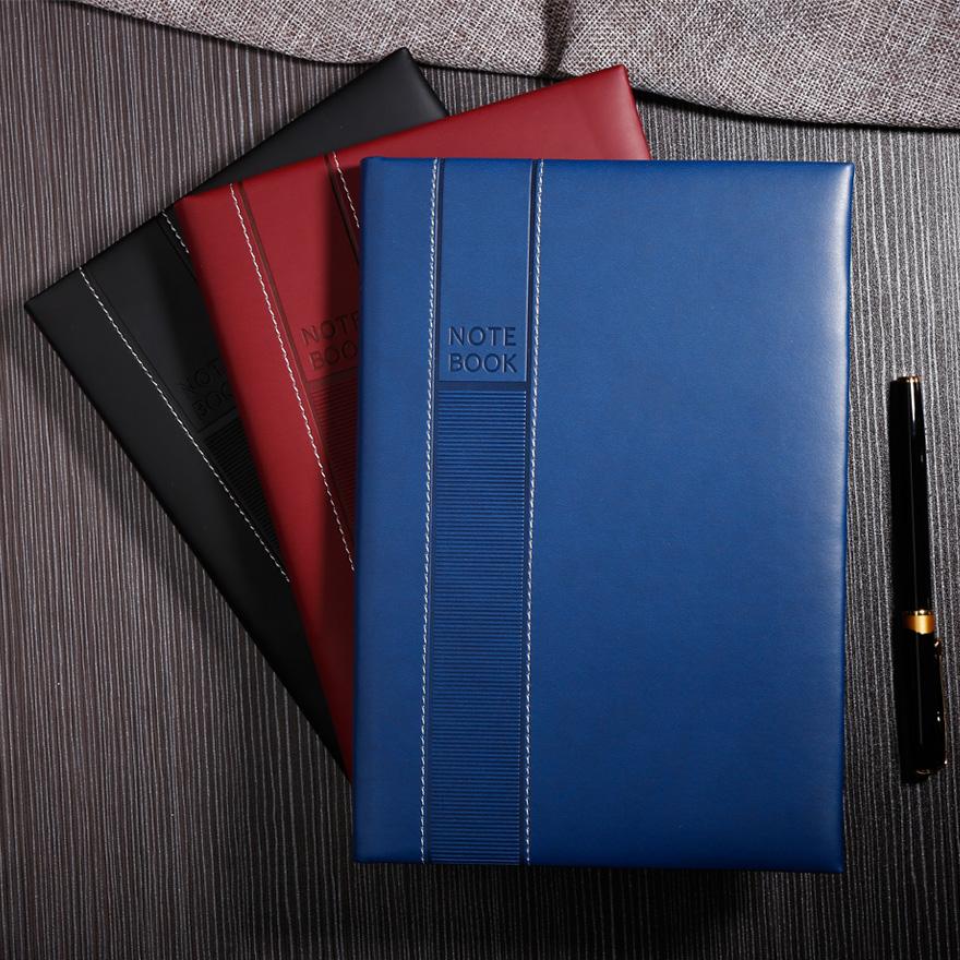 得力佳创意记事本办公用品笔记本文具日记本子商务记事本厚A5定制,可领取3元天猫优惠券