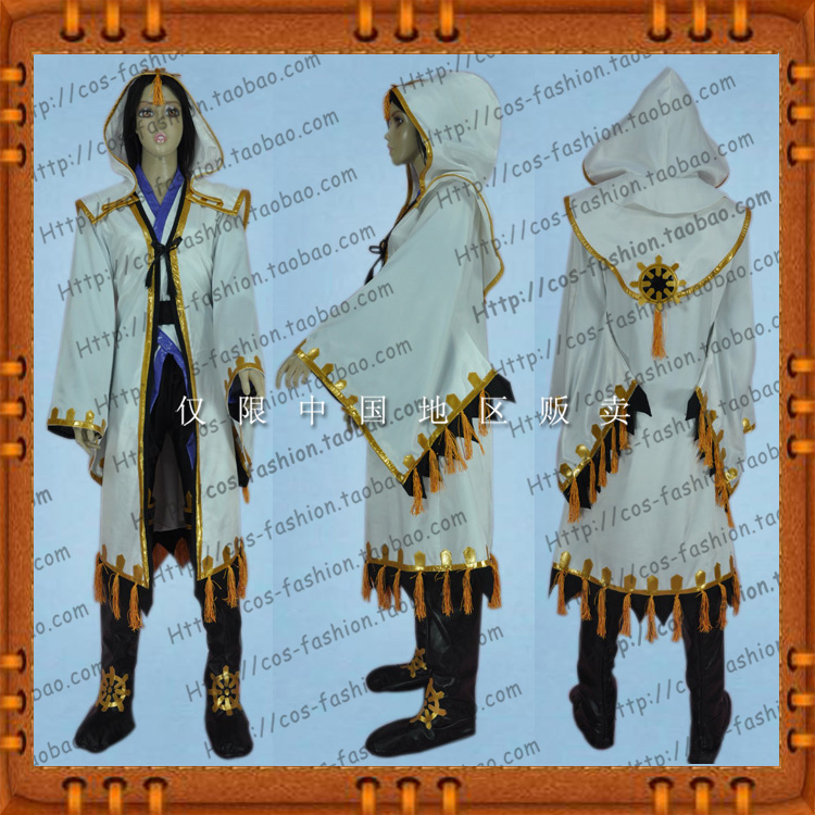 Real time photos of the cosplay clothes in front of the imperial silk in the Warring States Period