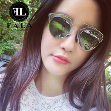 D 2015 ms star cat's eye sunglasses uv retro sunglasses personality SoReal angelababy with money