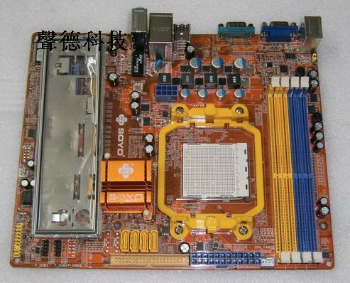 冲新 940针梅捷SY-AMN6PI-RL全集成小板 N61 上AM2 AM3 DDR2