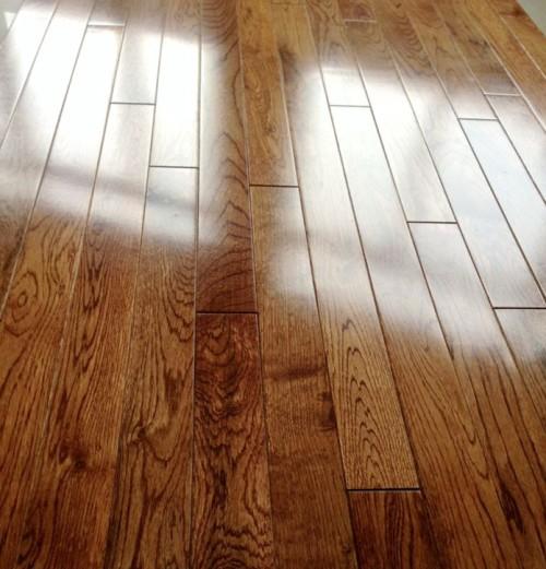 厂直销 可木蜡油 橡木纯实木地板 出口乱尺 清仓 素板地暖 免龙骨