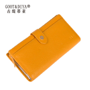 Gu Ti di Asia leather wallet 2015 new Korean version of the zipper around wallet handbags original leather wallets on sale