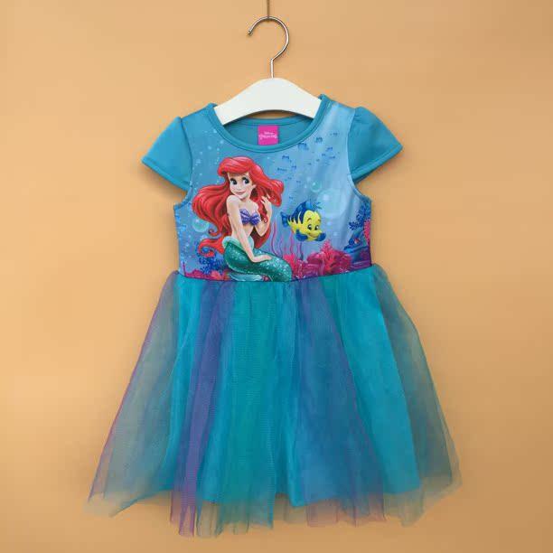 «2-6 x возраст»-оригинальный платье Русалка