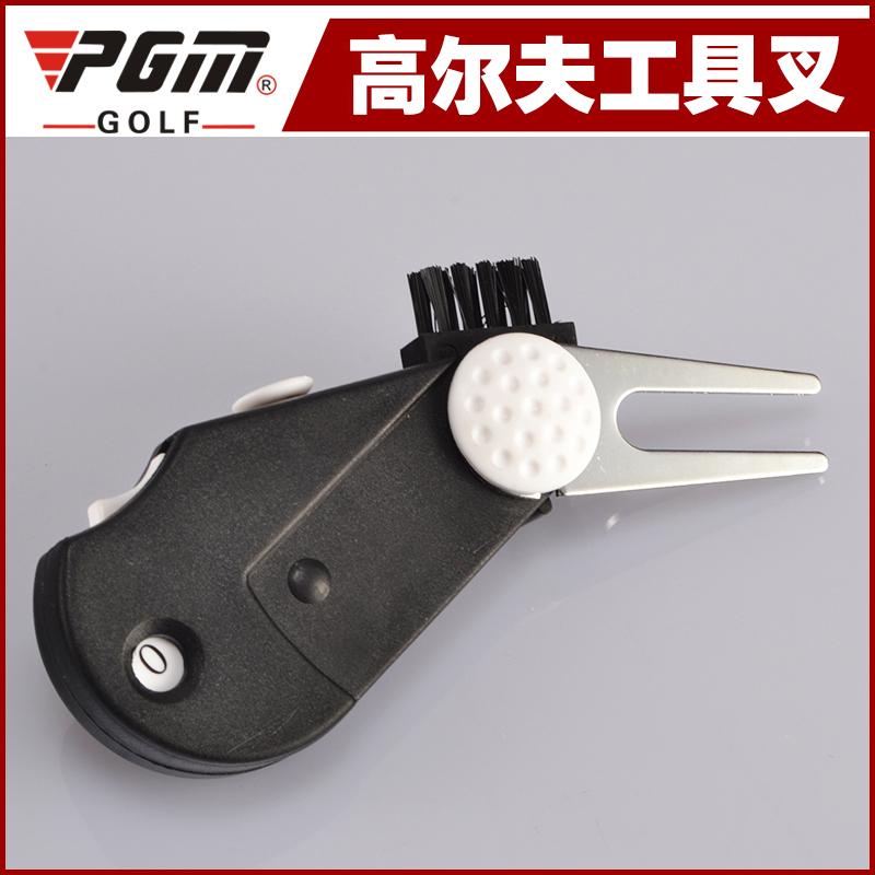 PGM подлинный гольф зелень вилка 4 синкретическая инструмент вилка Golf мяч знак метр филиал устройство функция