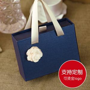 包装盒定制创意结婚喜糖盒子抽屉盒回礼盒袋手提盒礼盒礼品盒婚庆
