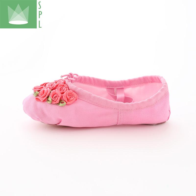 儿童舞蹈鞋女孩跳舞鞋软底宝宝练功鞋芭蕾舞鞋幼儿学生鞋手工舞鞋