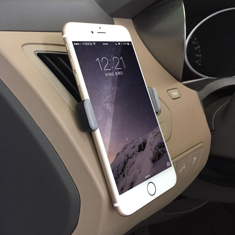 Нетсис автомобиля телефон кронштейн iPhone6p автомобильный Кондиционер воздуха навигации мобильных творческие общие
