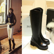 2015 Europe and coarse with new products for fall/winter boots women''''''''s boots boots boots platform leather boots over the knee