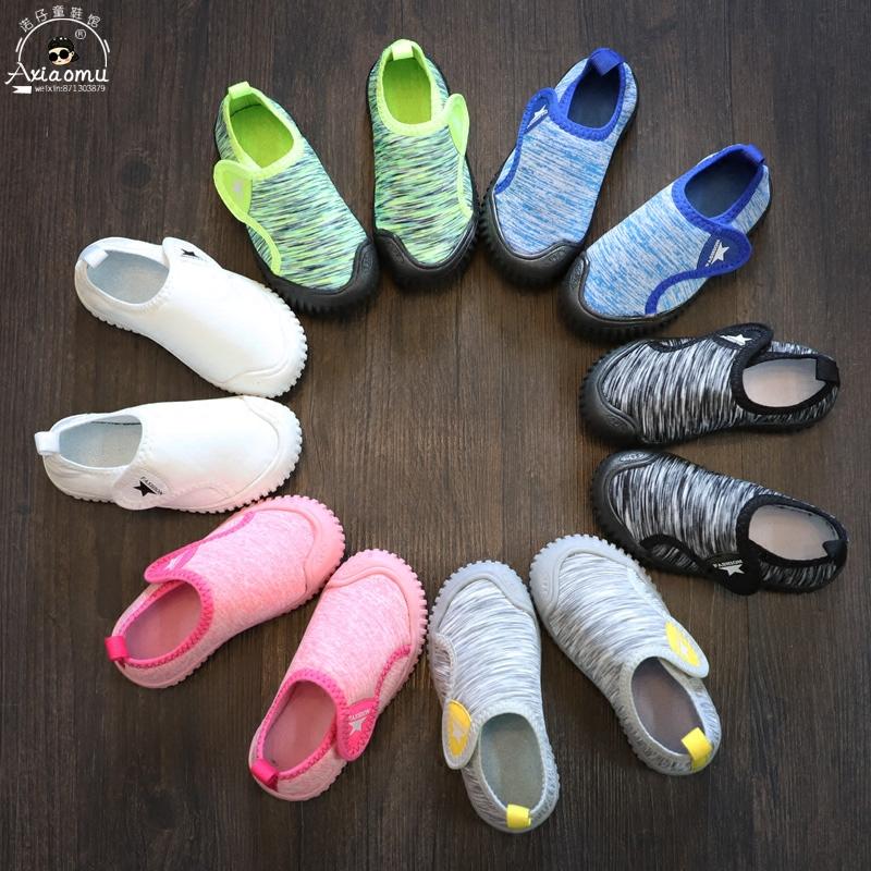 女童鞋子秋款2018新款百搭韩版儿童室内鞋幼儿园小童鞋男防滑软底