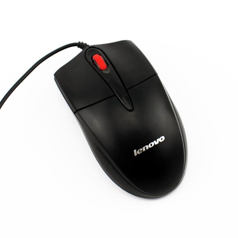 联想鼠标 有线 笔记本台式机电脑办公FML301 USB光电鼠标正品