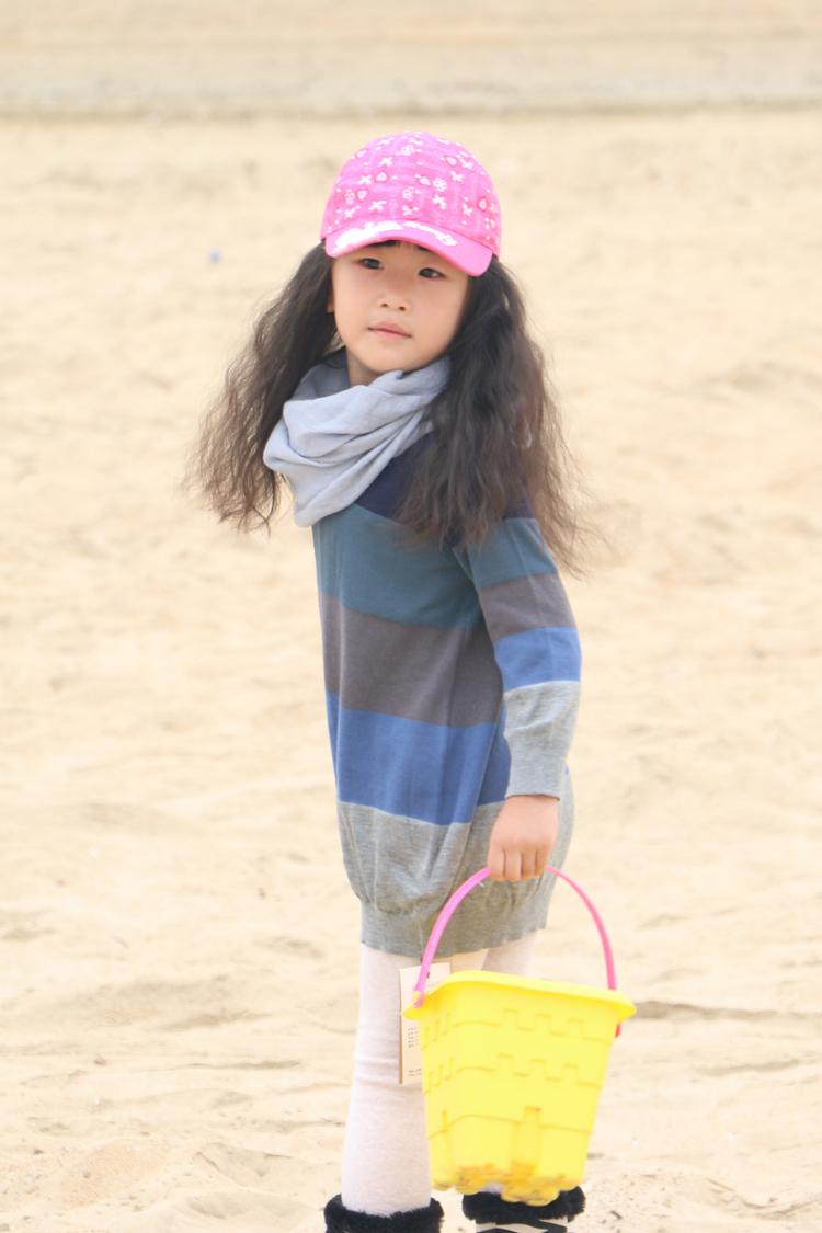 Весной девушки волос линии Джокер jnby стиль Зебра полоса хлопок вязать длинный рукав хлопок платье из Джерси