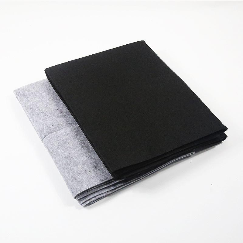 黑灰色羊毛毡 0.8*1.5米 毛笔字书画毡垫子文房书法国画用品包邮 Изображение 1