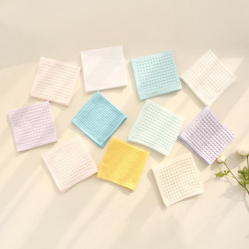 一个ID限拍3件!日式风格纯棉毛巾小方巾成人家用洗脸小毛巾2180