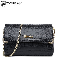 Jules new ladies bag for fall/winter European and American fashion chain crocodile pattern leather shoulder bags Messenger bags