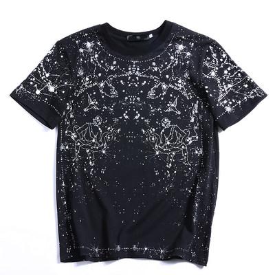 【坦萨尔】满天星男款短袖T恤 券后24.9元包邮