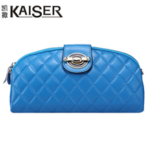 Kaiser Caesar handbag handbag 2015 new trend in Europe and the shoulder chain mini wallet is genuine leather hand caught