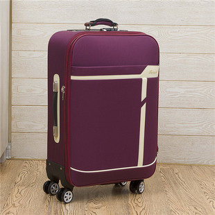 Oxford cloth caster trolley suitcase 24 inch 20 inch soft case Female Male 22 28 inch canvas suitcase box