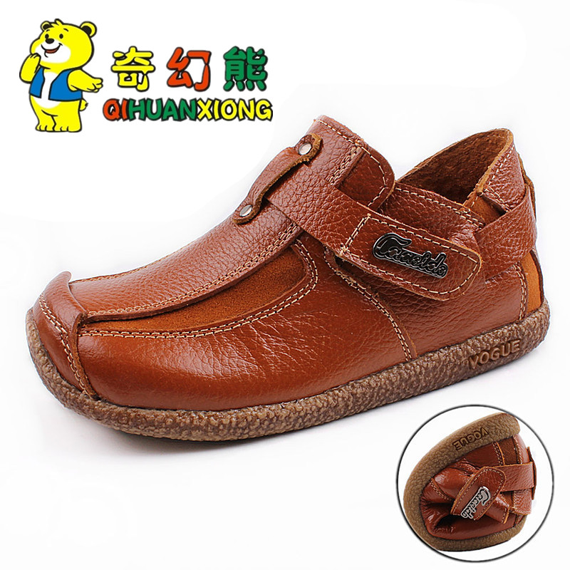к 2015 году новых Детская обувь осень ребенок мальчиков Обувь повседневная обувь кожа обувь детей корейской версии события электронной почты