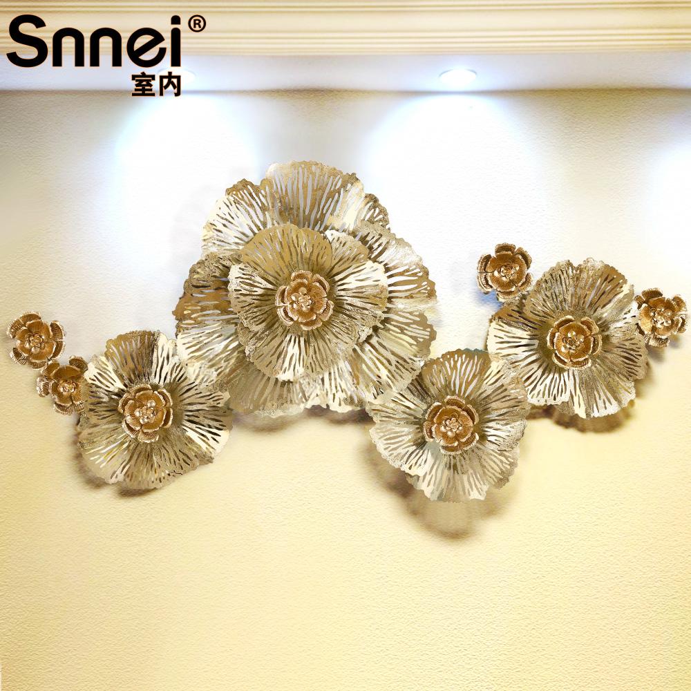 Snnei 歐式牆飾壁掛飾 地中海風格鐵藝壁飾 家居牆壁軟裝飾品