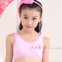 08ff8caf3d Children s natural child that wipe a bosom small vest underwear girl bra  girls bra puberty wrapped